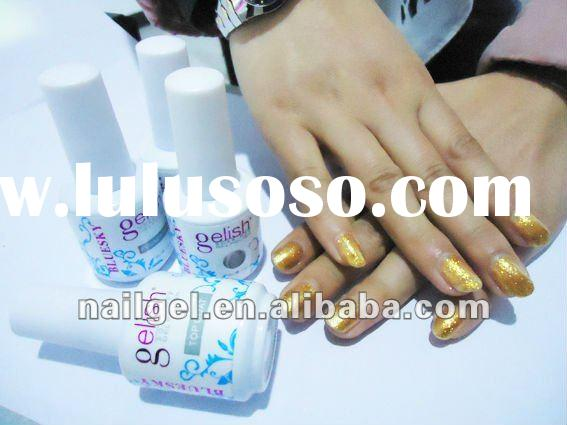 high quality uv/led soak off Gelish gel polish from Nail gel lacquer factory