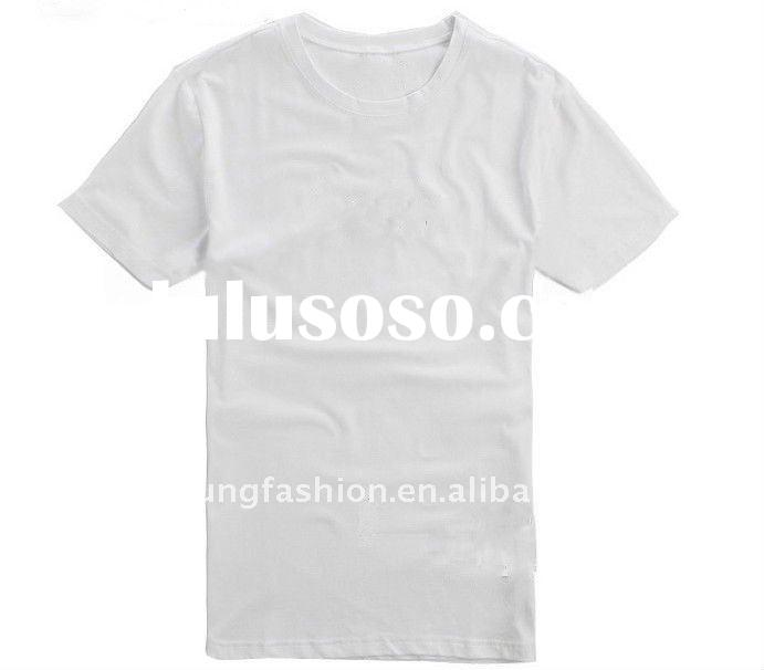 hot selling 100 cotton 180gsm short sleeve o neck blank t shirts cheap