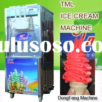 ice cream recipes for ice cream machine soft icecream machine TML360