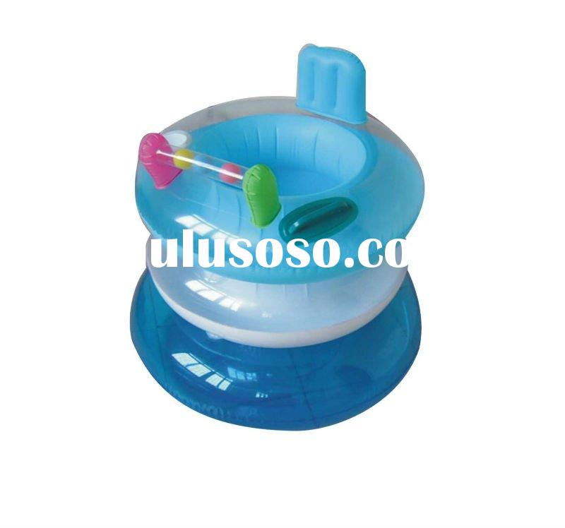 inflatable baby float neck ring & inflatable floating water tube