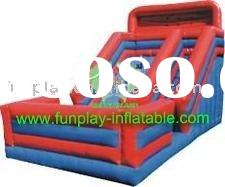 inflatable water Slides for kids made of thick high strength pvc tarpaulin