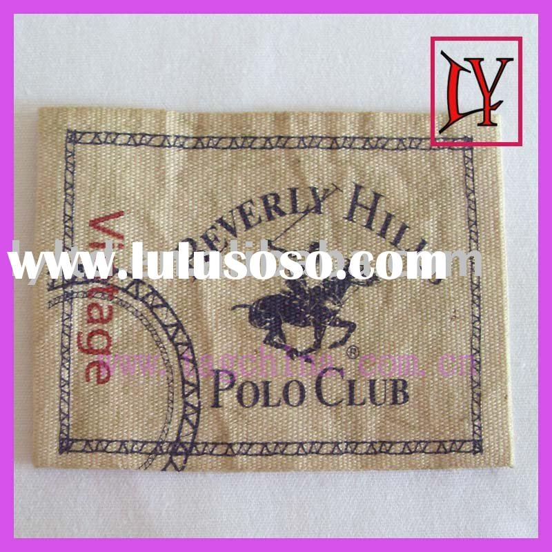 jeans leather label,label for cloth