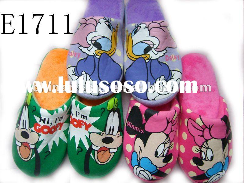 kids colorful cartoon indoor slippers Mickey Mouse spring and autumn indoor slippers