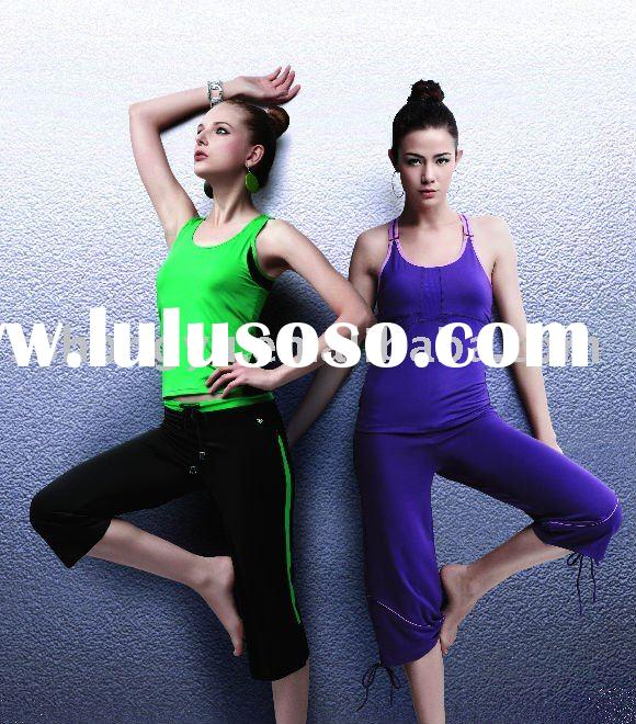 ladies' brand yoga clothes