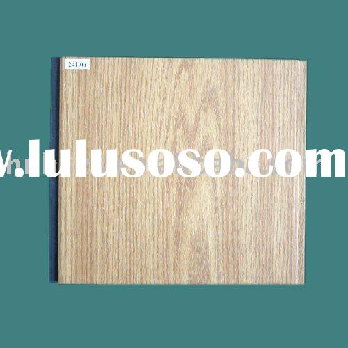 lambris PVC plafond/pvc ceiling panel(wood plastic panel)