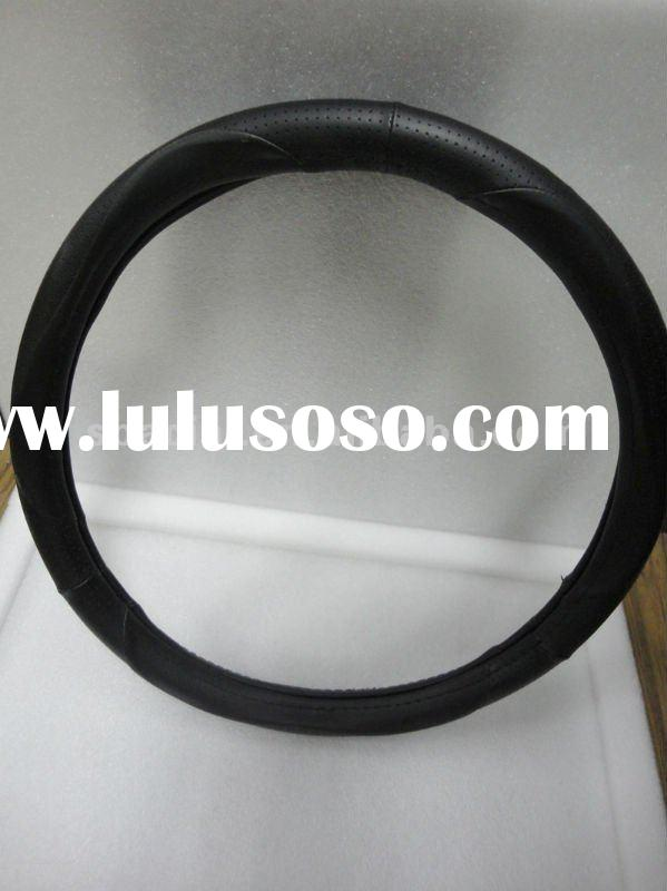 leather auto steering wheel cover