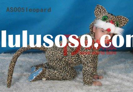 leopard lovely children kids animal costumes cartoon costumes character mascot costumes