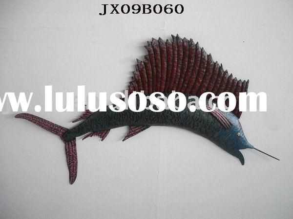 metal fish wall decoration,cheap wall art