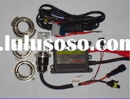motorcycle hid headlight bi-xenon kit H6 hi/lo lamp Universal light slim ballast