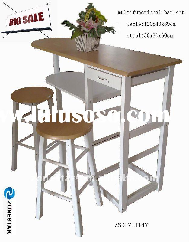 multifunctional bar furniture set bar stool and bar table