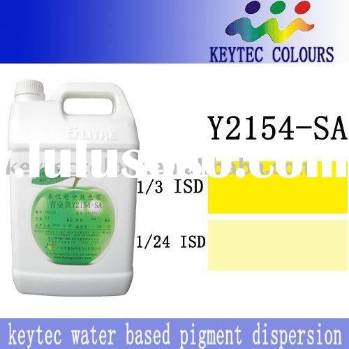 paint yellow water-based pigment dispersion/pigment paste for interior and exterior --2154-SA