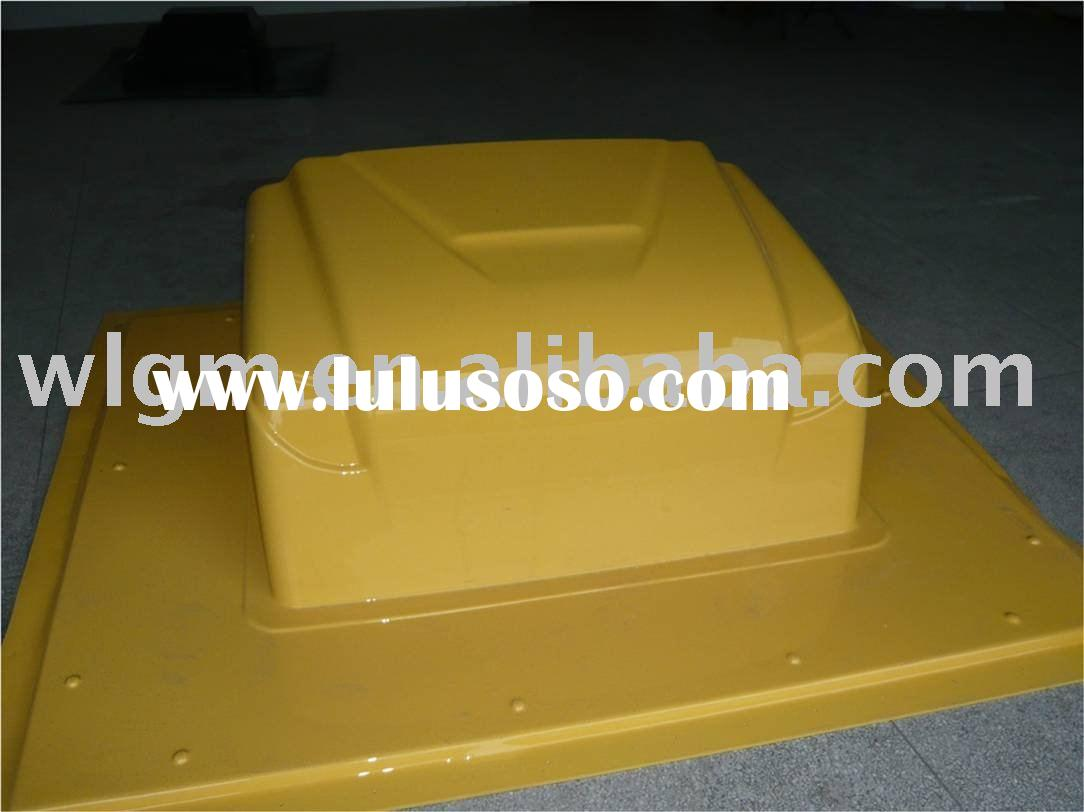 plastic body cover of thick sheet vacuum forming thermoforming