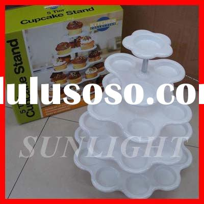 plastic cup cake stand ,bakeware tool,kitchenware