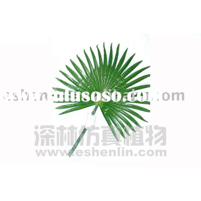 plastic palm leaves,artificial palm leaves,artificial palm tree accessories