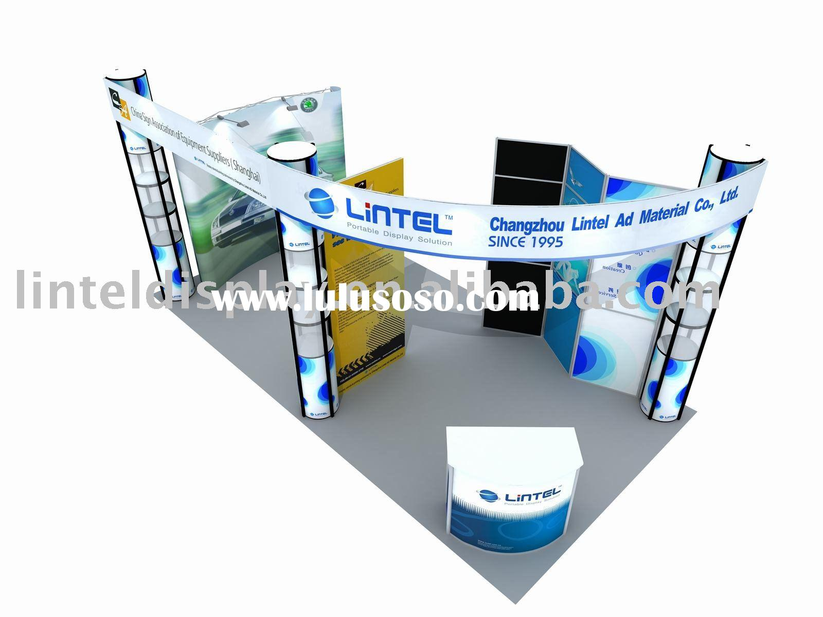 portable exhibition booth solution