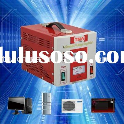 relay type electronic ac voltage stabilizer circuit