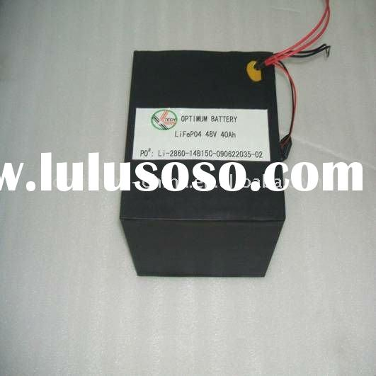 scooter and bike battery 48V 40AH LiFePO4