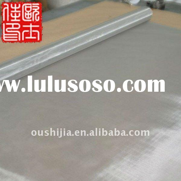 stainless steel selvedge wire mesh&150 micron stainless steel wire mesh&ultra fine stainless