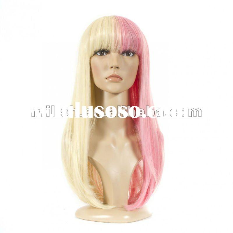 synthetic Nicki Minaj Celebrity Style Wig MSW-0052