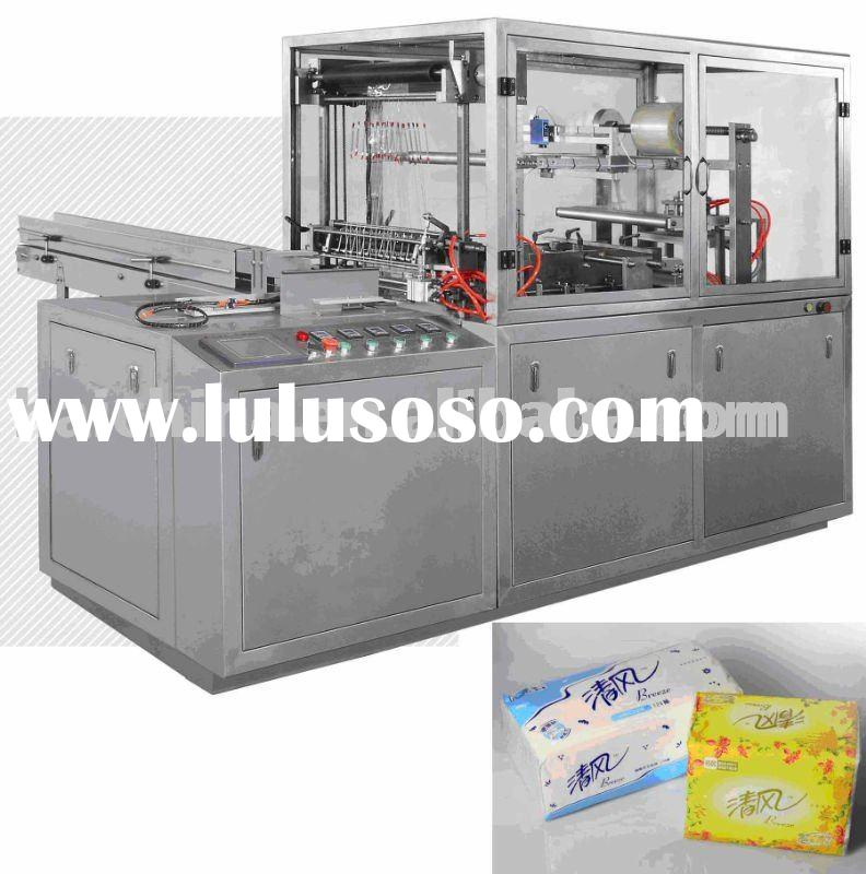 table napkin packaging machine without of carton box
