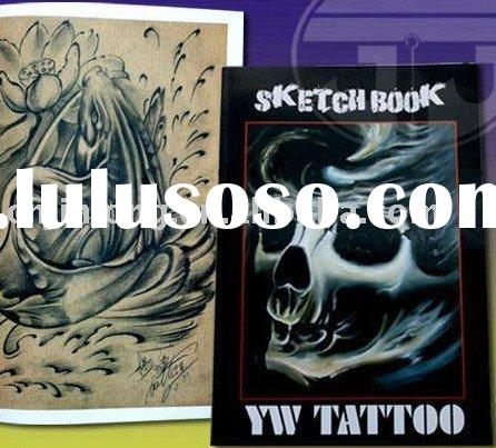 tattoo designs book with European and American style