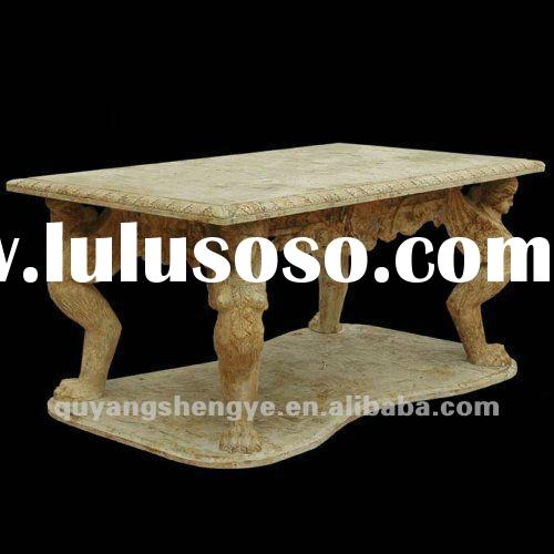 travertine stone top dining tables with stone base