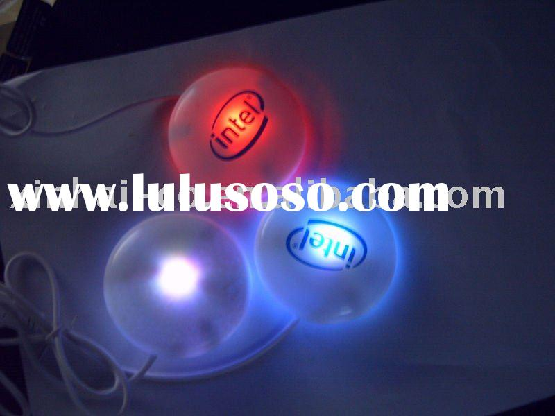 usb eco with 7 color led light