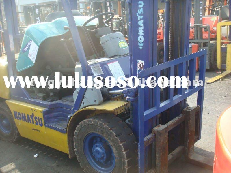 used original forklift Komatsu 2t for sale in low price in shanghai