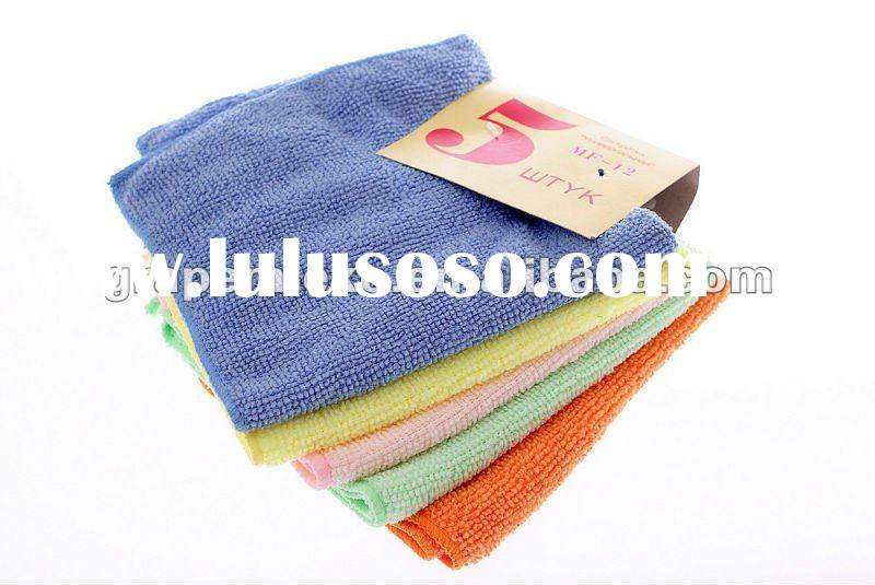 warp knitting cleaning microfiber cloth