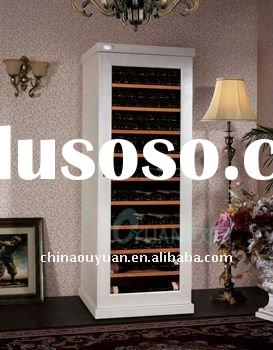 wine refrigerator,compressor wine refrigerator,artficial leather wine refrigetor,freestanding wine r
