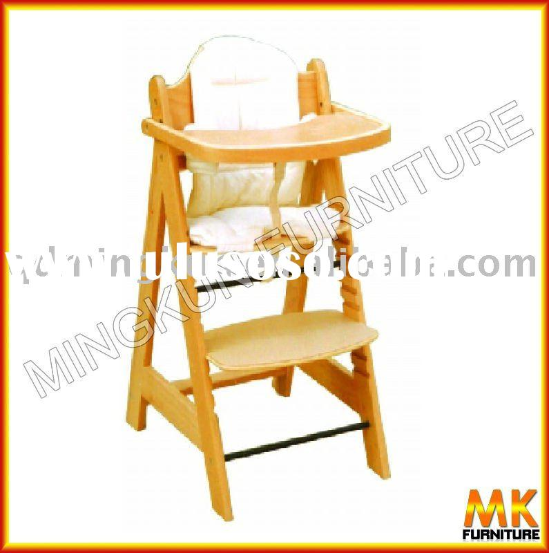 wooden high chair baby chair baby high chair