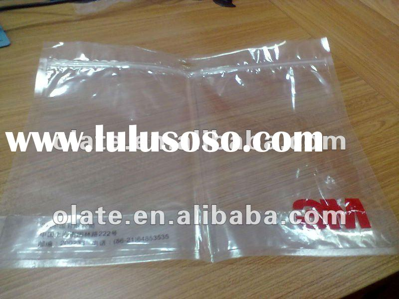 zipper bag for clothing packaging/plastic zipper bag