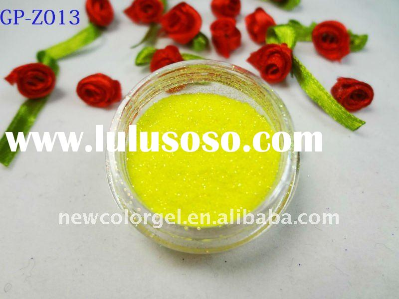 1/256' laser colorful high temperature Acrylic Glitter Powder for Nail Enhancement
