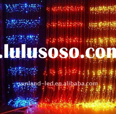 2011 Super Hot Color Changing Festival Decorations Led Christmas light Holiday Decorative Led waterf