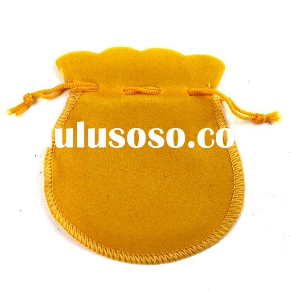2011 fashion 70*90mm velvet jewelry gift pouch wholesale JP015
