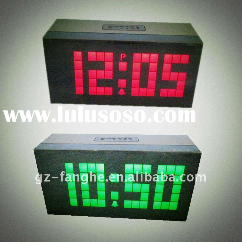 2011 new sytle blue screen outdoor led countdown clock