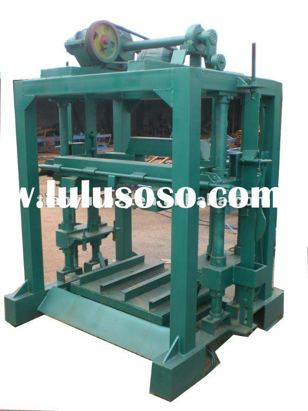 2011 the new manual brick making machine QTJ40B2 (Tianyuan Brand)