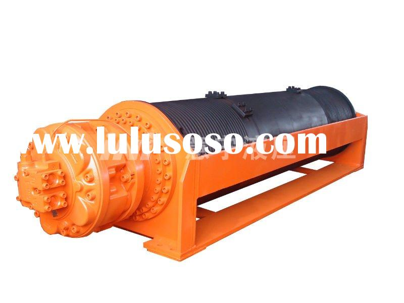 250kN/ 25ton double drum Hydraulic Winch