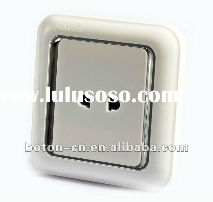2 pin home wall electrical socket