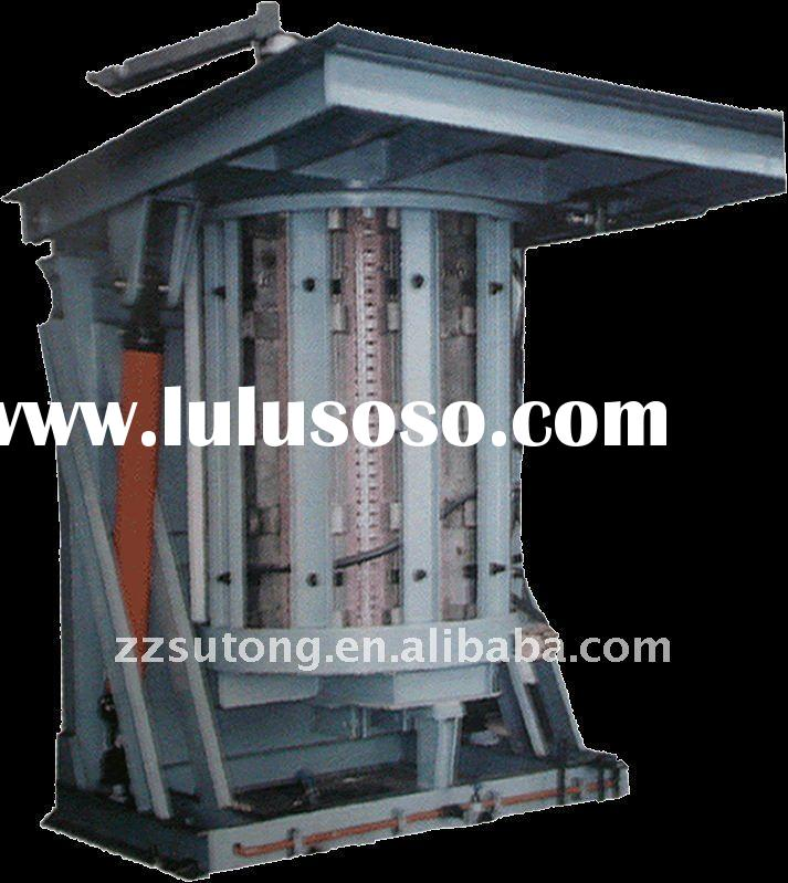 5t capacity induction furnace used for melting steel