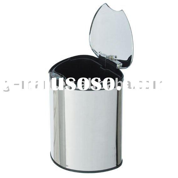 6L handsfree stainless steel hotel ensor bin sensor trash can