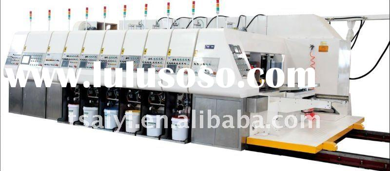 Automatic Flexo Printer Slotter Rotary Die Cutter with Auto Stacker&in line Folder Gluer