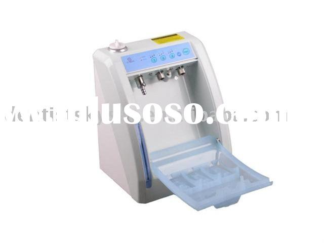 Automatic dental handpiece cleaning lubricate system