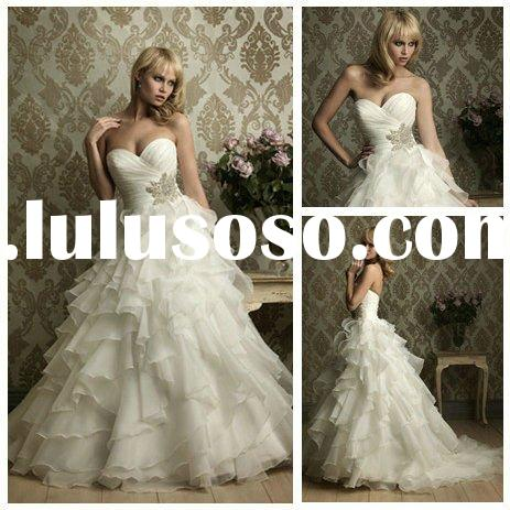 Ball Gown Organza Cheap Wedding Gowns for Sale 2011