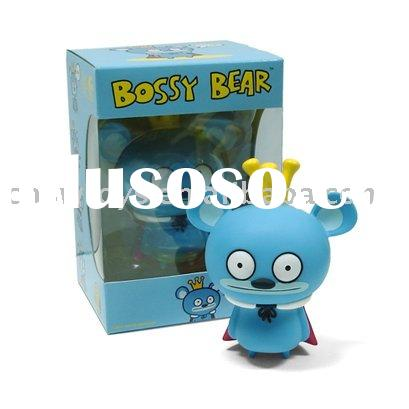 Bossy bear toys customize and OEM doll (vinyl doll, rubber doll,soft pvc doll)