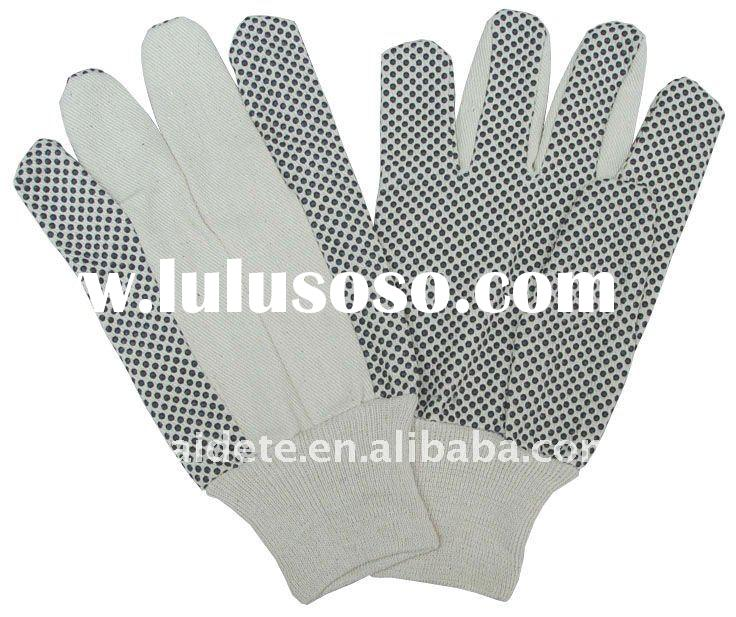 Camouflage color garden working gloves with CE