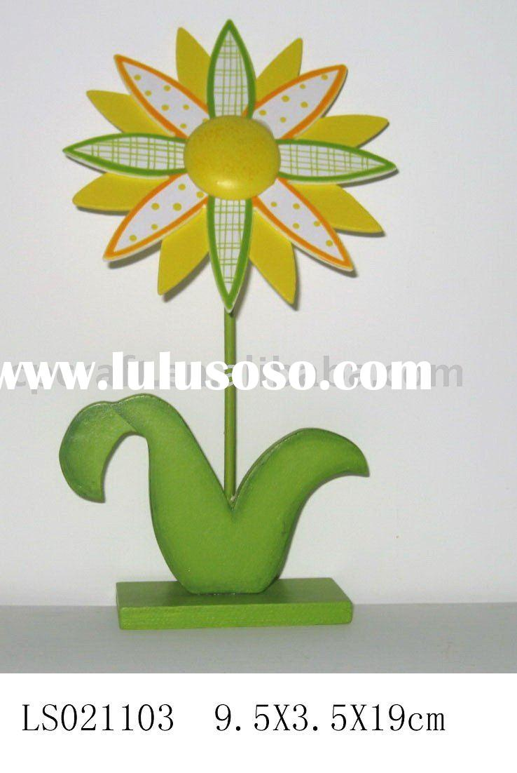 Craft decorative easter wooden flower