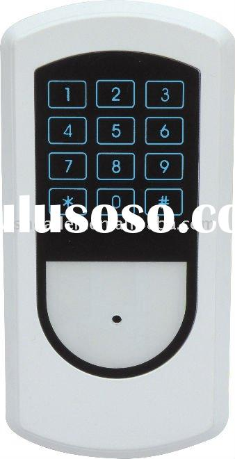 Door Access Control with Touch Sensor Keypad