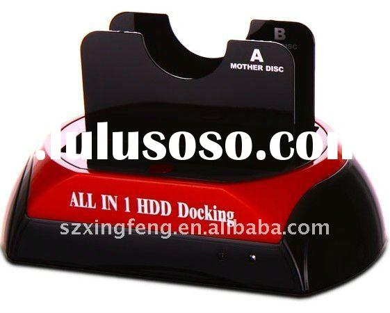External usb/esata to SATA HDD Docking/Hard Drive Docking with hard disk Cloning function
