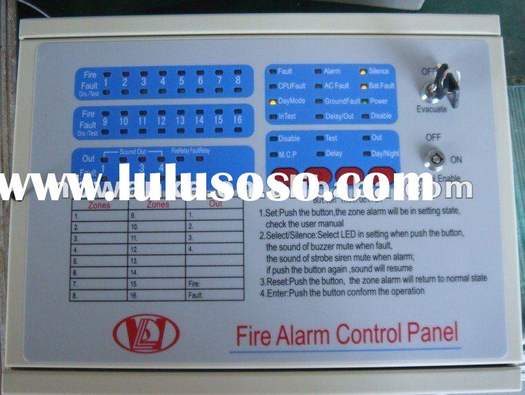 Fire Alarm Control Panel Conventional Alarm